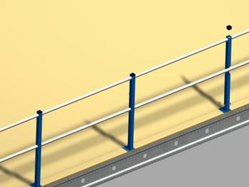 Entreplantas modulares permar soluciones de almacenaje - Barandillas de obra ...